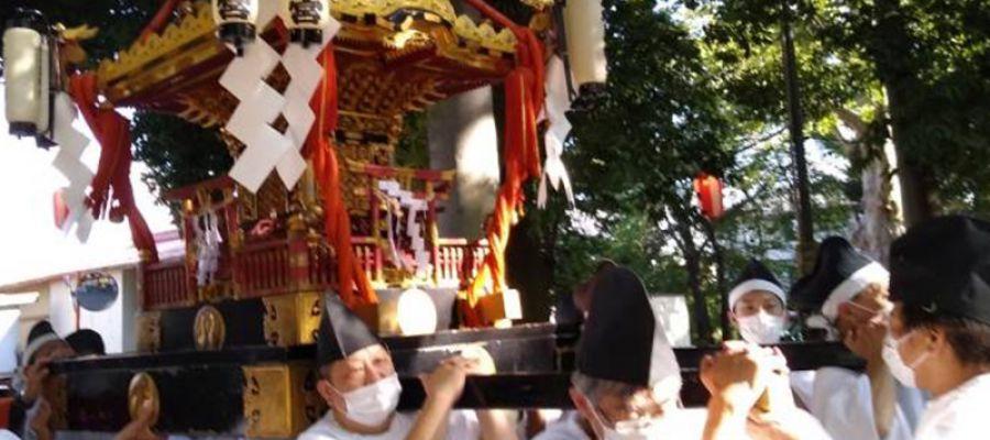 2021/9/15六椹八幡宮 例祭・神輿渡御